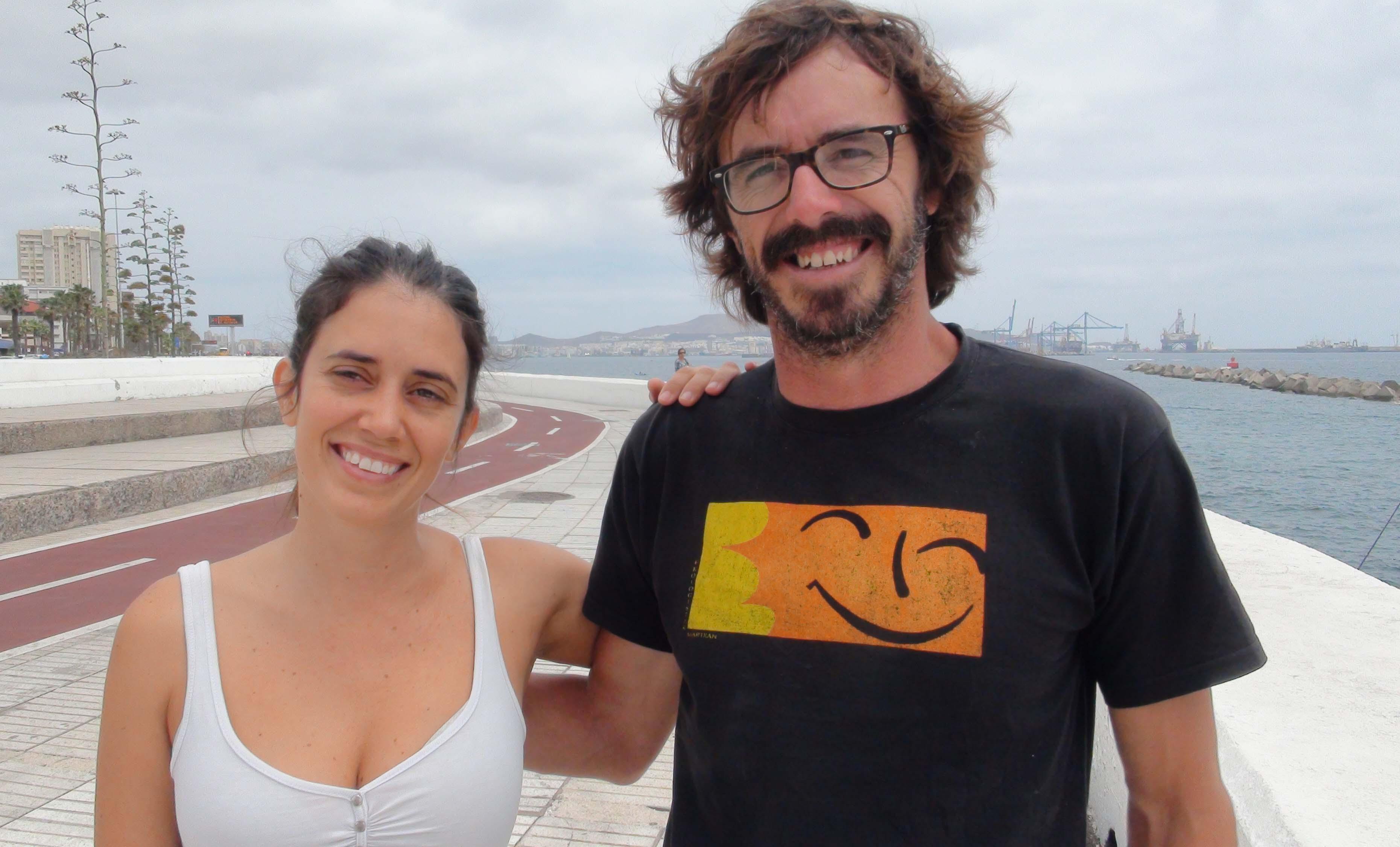 Noelia Sanchés og Pepe Guillén.